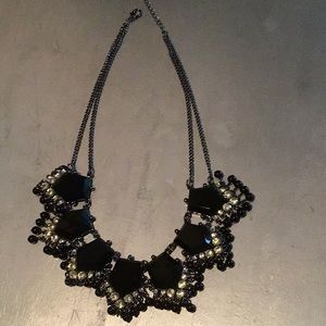 Jewelry - Chunky Black And Silver Neclace